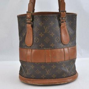 Authentic Louis Vuitton Bucket PM monogram